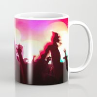 rave Mugs featuring rave by xp4nder