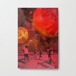 Interstellar Vibrations Metal Print