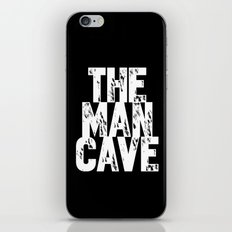The Man Cave - inverse iPhone & iPod Skin