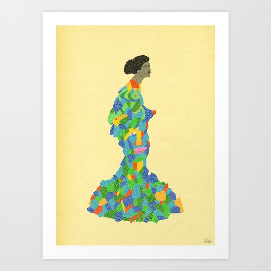 - geishaic beethoven - Art Print