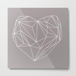 Heart Graphic Metal Print