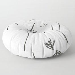 nude series Floor Pillow
