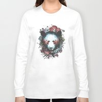 warrior Long Sleeve T-shirts featuring Warrior by Tracie Andrews