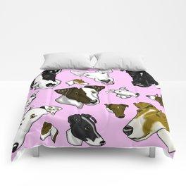 Smooth Fox Terrier-Pink Comforters