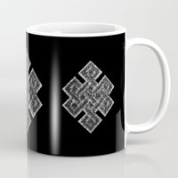buddhism Mugs featuring Many Paths of One Humanity - 1 of 7 - Buddhism  by ART.KF
