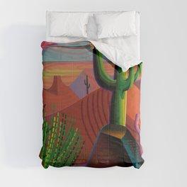 Gila River Landscape Comforters