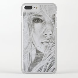 Stay with me Clear iPhone Case