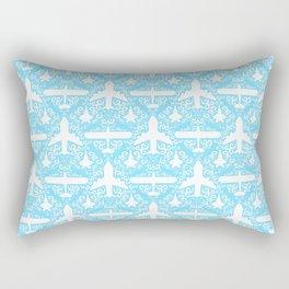Aircraft Damask Rectangular Pillow