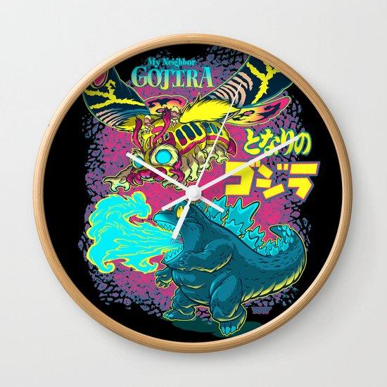 MY NEIGHBOR GOJIRA Wall Clock