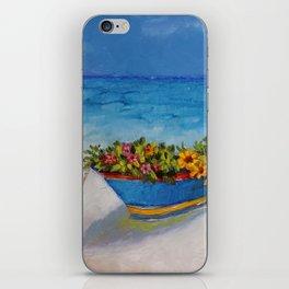 """Fishing Colorful Dreams-1"" iPhone Skin"