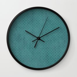 The Green Lagoon - Solid Colors Wall Clock