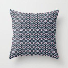 Rombus_Amaranto Throw Pillow