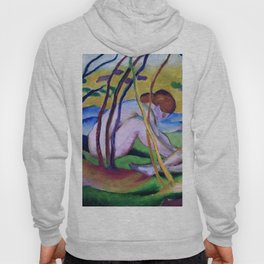 """Franz Marc """"Nudes under trees"""" Hoody"""