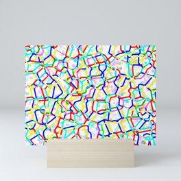 Rhythmic cloud 31 Mini Art Print