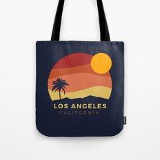 Los Angeles Sunset Tote Bag