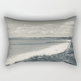 Time by the Sea Rectangular Pillow