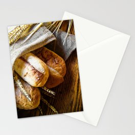 Loaves of Bread Stationery Cards