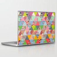 poem Laptop & iPad Skins featuring Lost in ▲ by Bianca Green