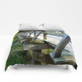 Uncle Tim's Bridge from the Side Comforters
