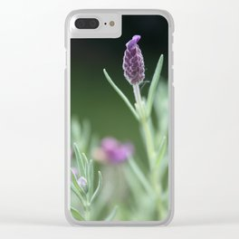 Lavendel Clear iPhone Case