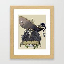 Le Chuck from Monkey Island Framed Art Print