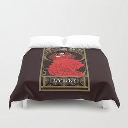 Lydia Nouveau - Beetlejuice Duvet Cover