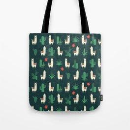 Fleece Navidad and Cactus Tote Bag