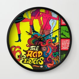 The Acid Eaters Wall Clock