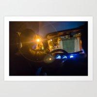 Cab Driver with Halo, Havana Art Print
