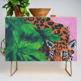Jungle cat Credenza