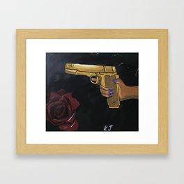 Guns N' Roses Framed Art Print