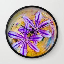 Rims #4 Wall Clock
