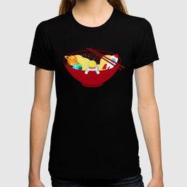 Space Odyssey Ramen | Astronaut Ramen | Bowl of Space Ramen | Galaxy in a Bowl | pulps of wood T-shirt