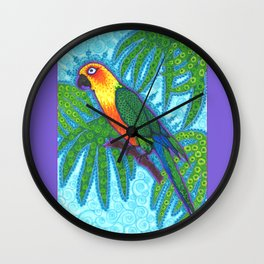 Ronnell's Parrot Wall Clock