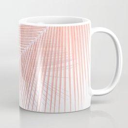 Palm leaf synchronicity - rose gold Coffee Mug
