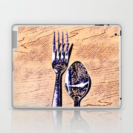 Forks and knives Laptop & iPad Skin