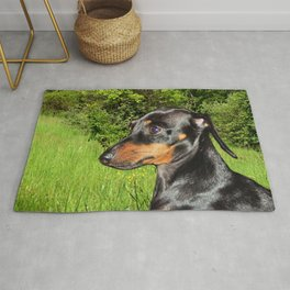 Dog Dachshund Doxie Rug