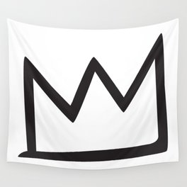 Basquiat Crown Wall Tapestry