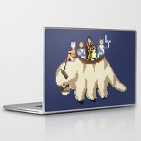 aang Laptop & iPad Skins featuring The Gaang by NeleVdM