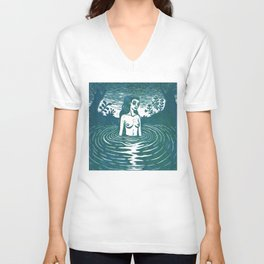 reflection 3 Unisex V-Neck
