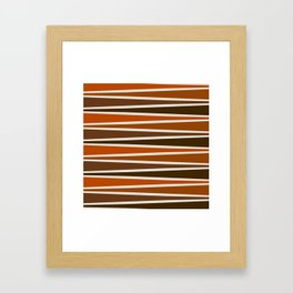 Cocoa Game Board Framed Art Print