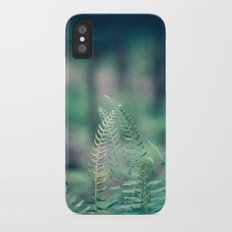 Deep in the Forest iPhone X Slim Case