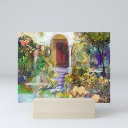Spanish Garden Mini Art Print