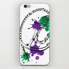 out anchor iPhone & iPod Skin