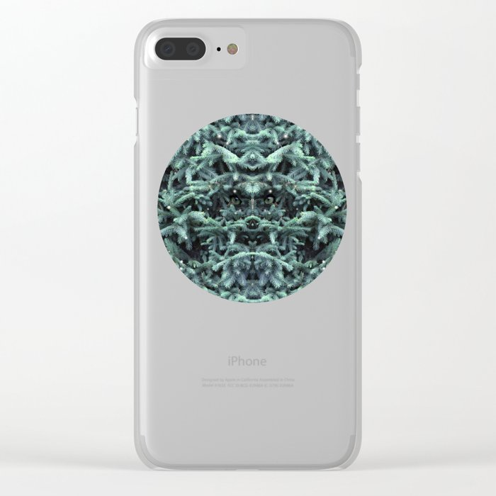 firs & foxes Clear iPhone Case