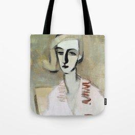 12,000pixel-500dpi - The Teacher - Helene Sofia Schjerfbeck Tote Bag