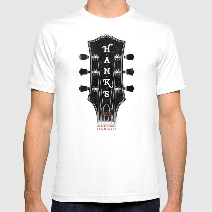 Hank's Guitar Head T-shirt