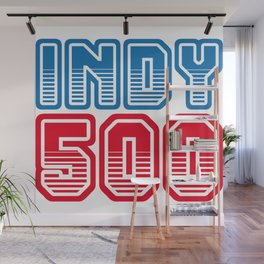 INDY 500 Wall Mural
