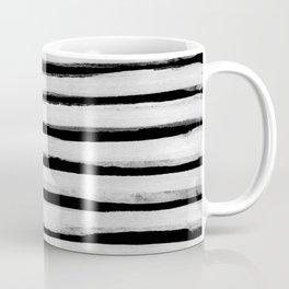Black and White Stripes II Coffee Mug