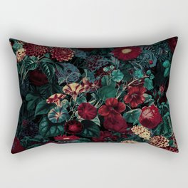 Night Garden XXXI Rectangular Pillow